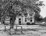 June 1862 - House on Fair Oaks battlefield used as a hospital