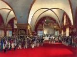 1856 - Coronation banquet for Tsar Alexander II