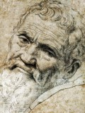 1550 - Drawing of Michaelangelo