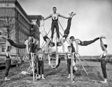 c. 1910 - Woodberry Forest gymnasium team
