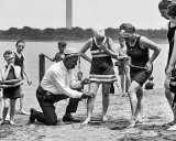 1922 - Law: No swimsuit higher than 6 inches above the knee
