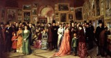 1883 - A Private View at the Royal Academy