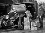 1922 - A bootlegger's car