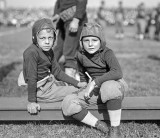 October 1922 - Two young leatherheads at the Navy-Georgia Tech game