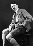 c. 1922 - Posin' in lederhosen