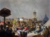 1856 - Public celebration of Tsar Alexander II's coronation