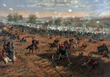 July 3, 1863 - Federal troops repulse Pickett's charge on last day of the Battle of Gettysburg