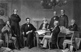 July 22, 1862 - First reading of the proposed Emancipation Proclamation