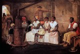 1861- Slaves Waiting for Sale
