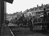 c. 1890 - Old French Market wagons