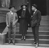 1922 - Theodore Roosevelt, Jr., Alice Roosevelt Longworth and Will Rogers