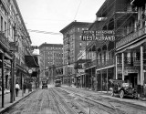 c. 1910 - St. Charles Avenue from Canal Street