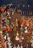 1 February 1633 -The marriage procession of Dara Shikoh