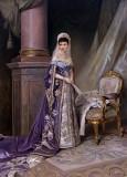 1912 - Maria Fyodorovna, Gatchina Palace in 1885