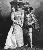 1897 - Future King George V and Queen Mary