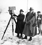 1920 - D.W. Griffith with camerman Billy Bitzer