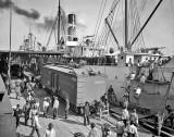 1903 - Unloading bananas