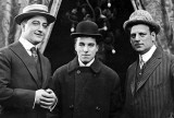 c. 1915 - Francis X. Bushman, Charlie Chaplin and Broncho Billy Anderson
