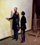 Tsar Nicholas I and the artist