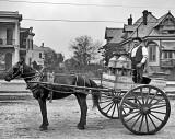 1903 - Milk delivery on Esplanade Avenue
