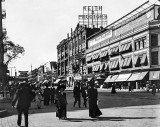 c. 1900 - Outside the Harlem Opera House, West 125th Street