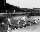 August 1911 - Skinny dipping in Regents Canal during a heatwave