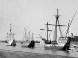 c. 1905 - Replicas of the Nina, Pinta, and Santa Maria