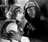1921 - Agnes Ayres with Rudolph Valentino as The Sheik