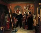 1865 - In the Artist's Studio