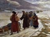 c.1653 - Archpriest Avvakum's exile to Siberia