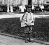 1914 - 7-year-old newsie who didn't know enough to make change