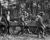 Burial ceremony of a German pilot