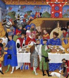1412-1416 - Tres Riches Heures du duc de Berry (January)