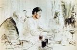 1905 - Maxim Gorky reading his drama Children of the Sun