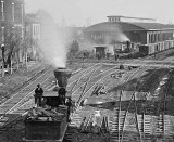 1864 - Atlanta railroad yards