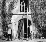 1845 - The Ladder (early photography)
