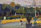 1898 - In the Luxembourg Gardens