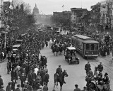 1913 - Marchers for Women's Suffrage