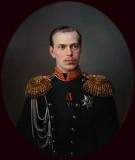 1865 - Future Tsar Alexander III as Grand Duke