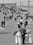 c. 1915 - The boardwalk at Asbury Park