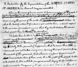 1776 - In Thomas Jefferson's handwriting