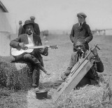 c. 1919 - Musicians in the field