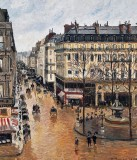 1897 - Rue Saint-Honore in the Afternoon, Effect of Rain