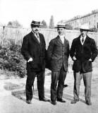 c. 1912 - Diaghilev, Nijinsky, and Stravinsky