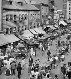 c. 1900 - Jewish market, Lower East Side