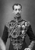 1891 - Prince Albert Victor, eldest son of the future Edward VII