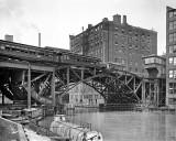 1907 - Jackknife bridge, down