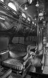 Pullman luxury traincar interior