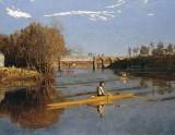1871 - Max Schmitt in a Single Scull