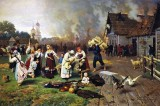 1885 - Fire in the Village